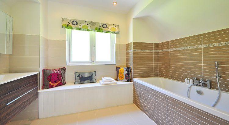 Grande salle de bain aménagée